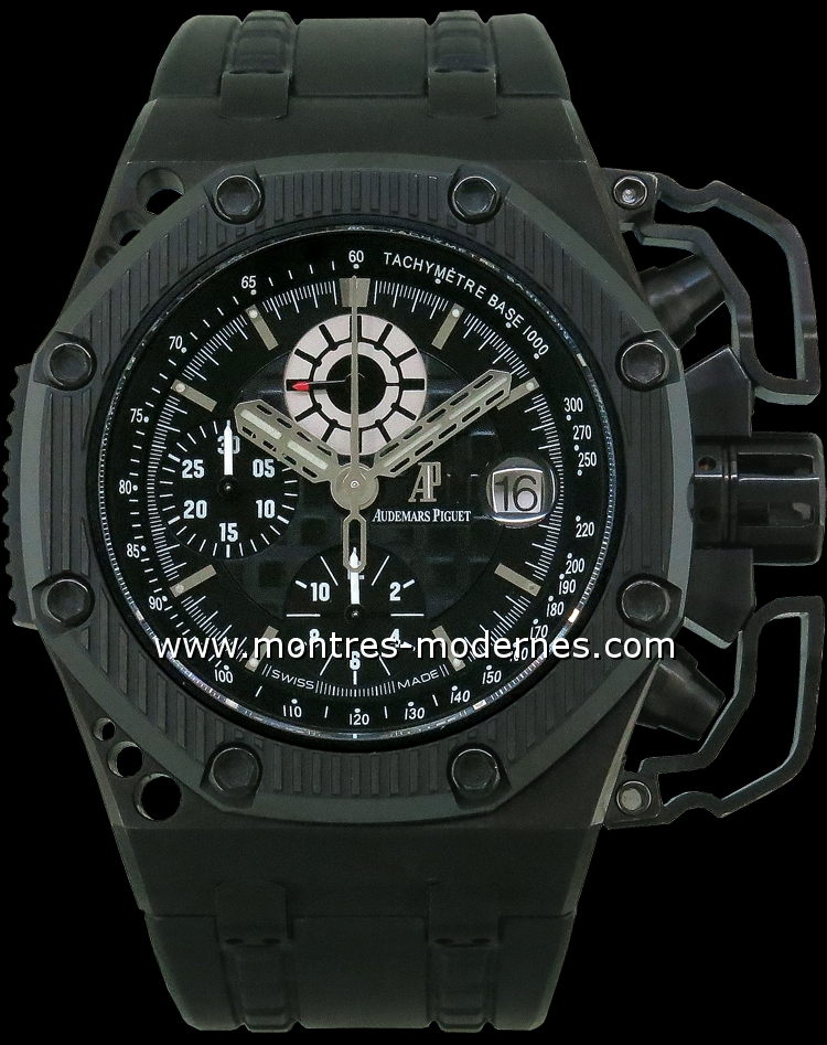 Audemars piguet royal oak offshore survivor r 1000ex occasion mmc num 9033 for Royal oak offshore survivor