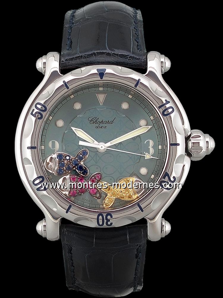 photos de montres chopard happy sport mmc montres happy sport chopard. Black Bedroom Furniture Sets. Home Design Ideas