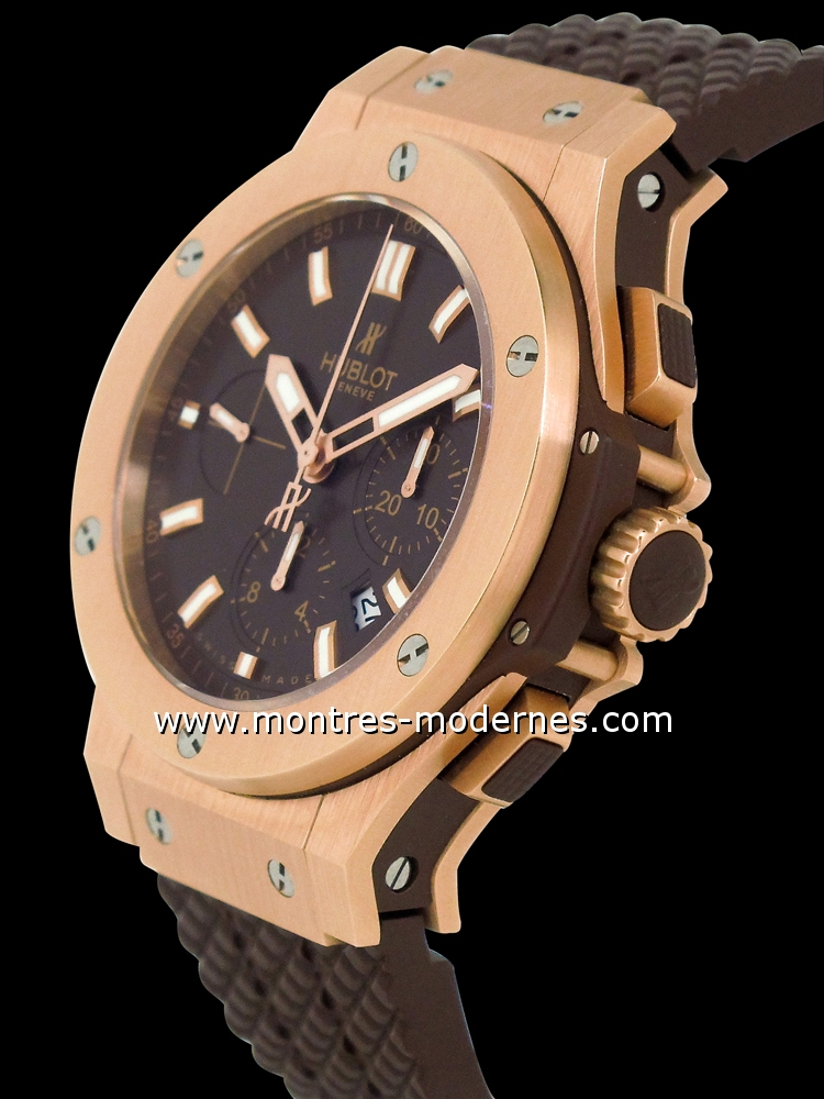 hublot big bang cappuccino gold 44mm occasion mmc num 4984. Black Bedroom Furniture Sets. Home Design Ideas