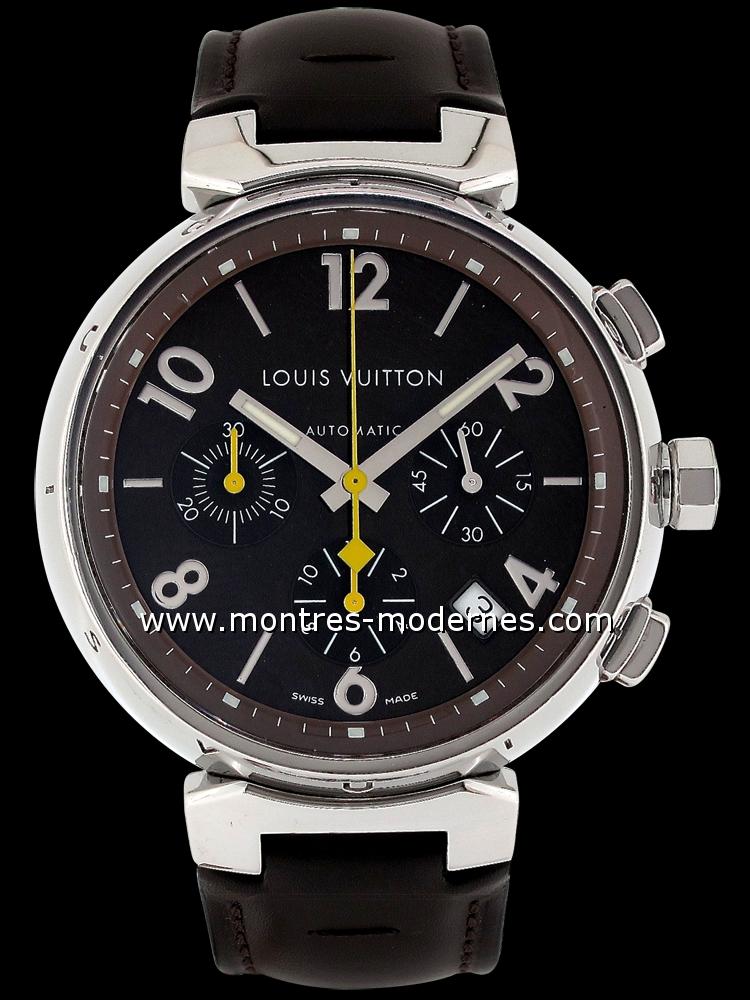 Louis Vuitton Tambour Chronographe réf.Q1121 occasion MMC (Num 6667) 2168dc54dc3
