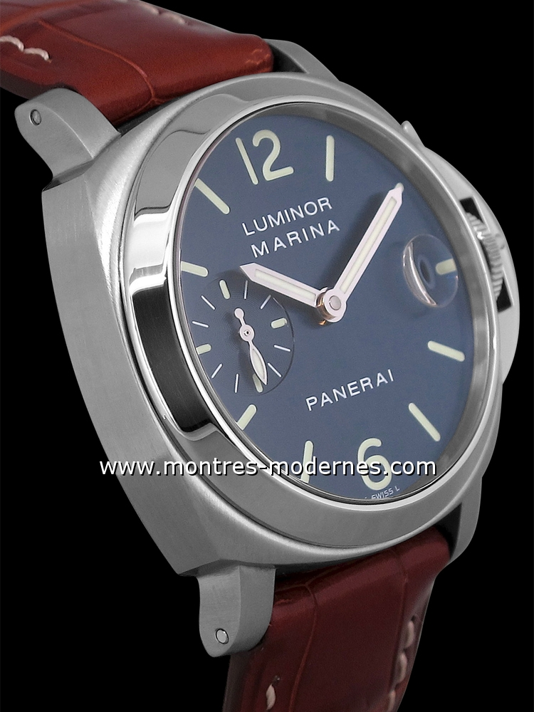 timeless design 06ce1 6bbd4 Panerai Luminor Marina Automatique 40mm PAM00119 occasion ...