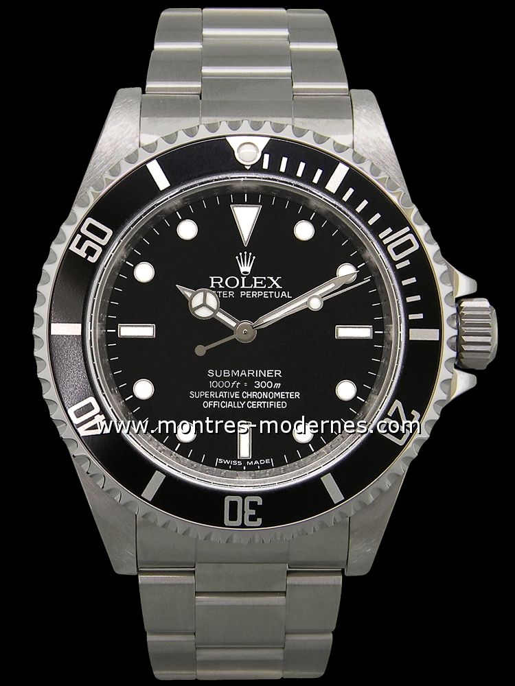 rolex submariner r new generation occasion mmc num 4684. Black Bedroom Furniture Sets. Home Design Ideas