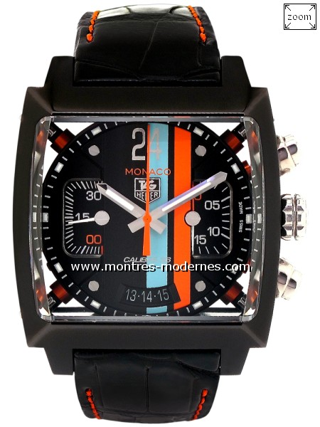 énorme réduction 23e71 82cad TAG Heuer Monaco 24 Calibre 36 - Image 1