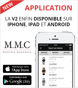Application Montres Modernes et de Collection